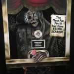 vhs box art series creepshow bts fx makeup body paint zombie booth