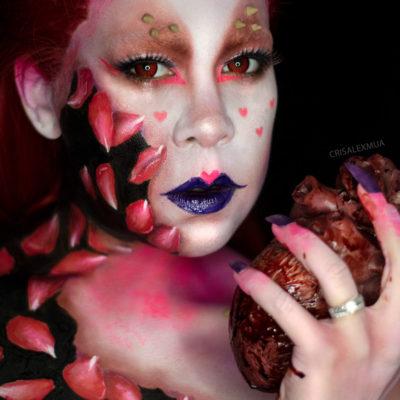 val makeup beauty body paint uv creative