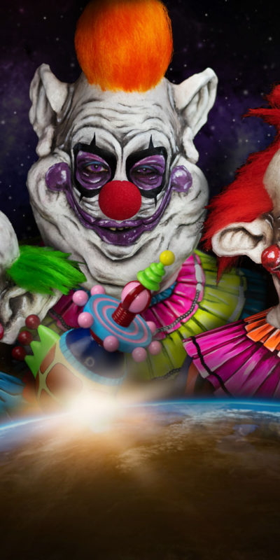 killer klowns from outer space series fx makeup body paint 80s cosplay youtube clown halloween fatso rudy shorty