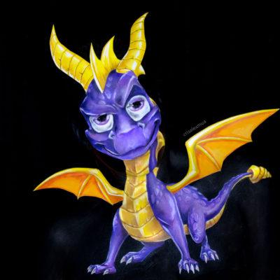 spyro the dragon cosplay makeup body paint fantasy illusion