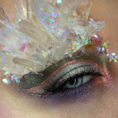 crystal cavern wet n wild makeup eye macro beauty creative
