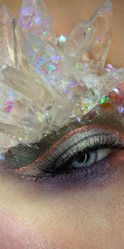 crystal cavern wet n wild makeup eye macro beauty creative