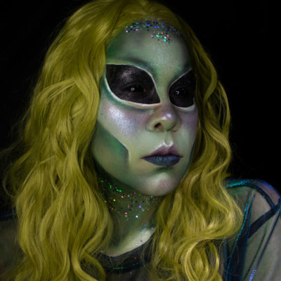 Area 51 makeup collective cosmetics glitter beauty