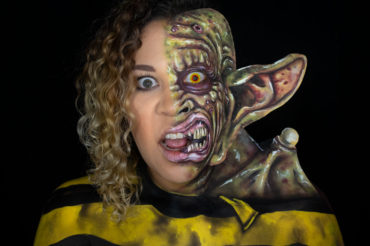 freaked body paint ricky coogan alex winter cosplay makeup youtube tutorial