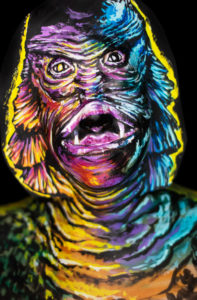 basil gogo gillman body paint face paint makeup illusion