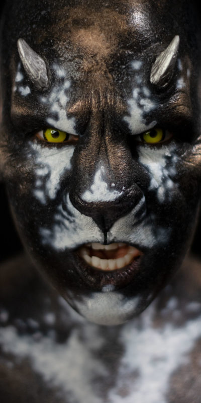panthera woochie fx body paint makeup lion creature foam latex prosthetic