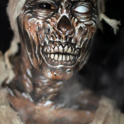 mummy body paint face paint fx monster