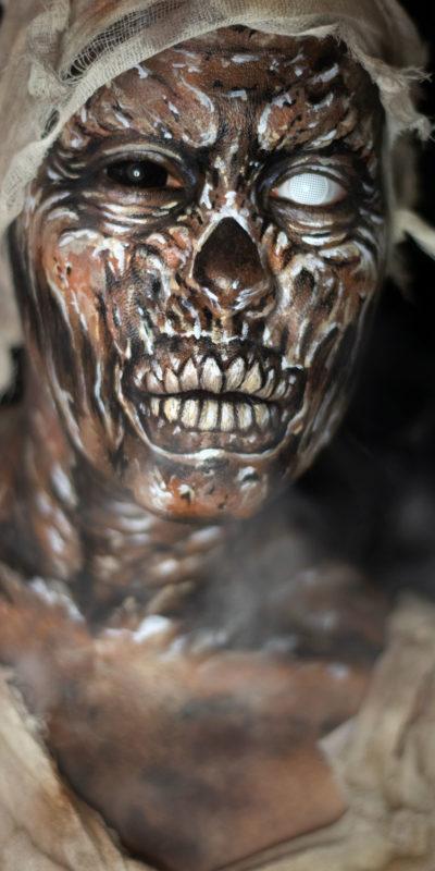 mummy body paint face paint fx monster