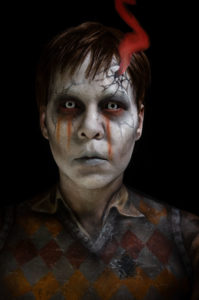 santi devils backbone ghost cosplay body paint makeup guillermo del toro youtube tutrorial