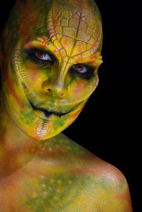 nagendra woochie fx foam latex reptile snake body paint makeup