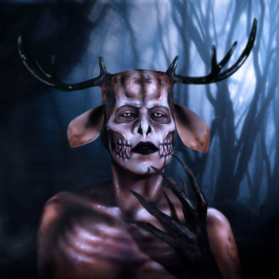 wendigo fx body paint mythical creature makeup