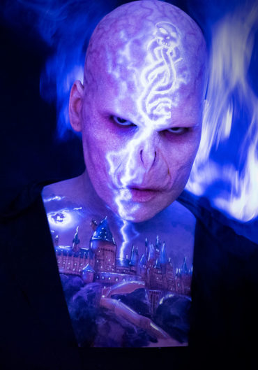 voldemort uv dark mark fx makeup hogwarts body paint